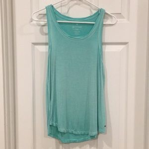 Soft turquoise tank top